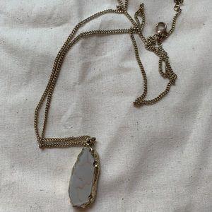 BP. Gold Gem Pendant Necklace ✨